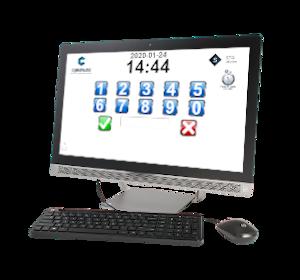 Poinçon STA sur ordinateur de bureau
